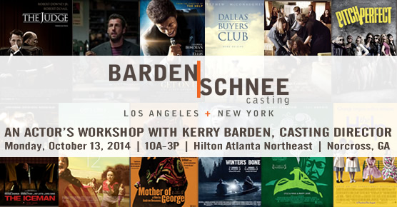 Kerry Barden, Casting Director, Kerry|Schnee - Los Angeles and New York - Urban Mediamakers Film Festival - October 12-18, 2014 - Norcross, GA