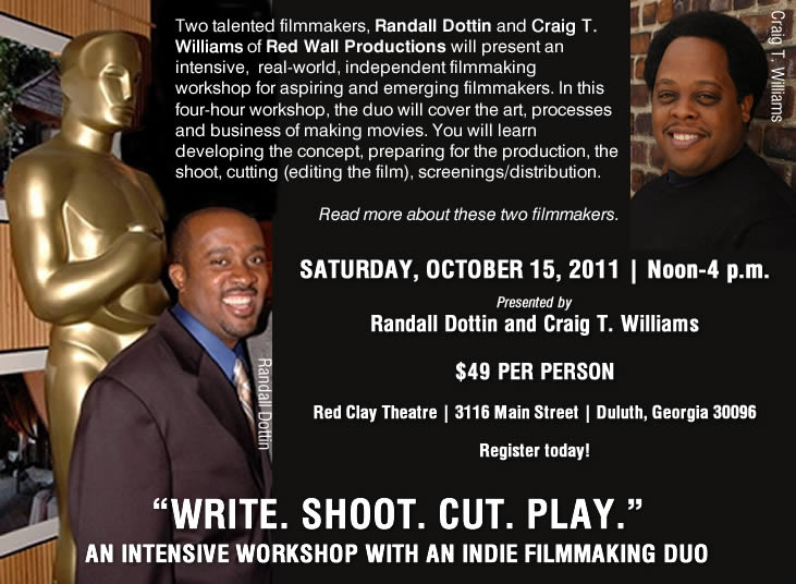 Write. Shoot. Cut. Play